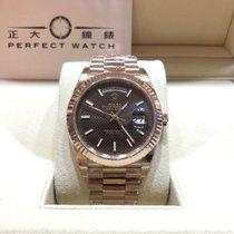 劳力士  (Rolex) 228235 Day Date II 40mm Brown Dial