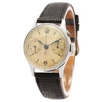 West End Watch Co. Vintage Single Pusher Medical Chronograph...