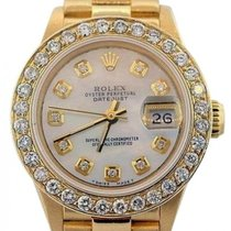 Rolex Presidential Datejust Ladies' 26mm White Mother Of...