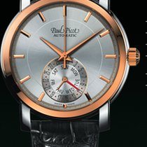 Paul Picot FIRSHIRE  RONDE  DAY& DATE  skin brown dial...