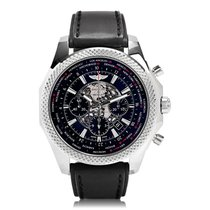 Breitling For Bentley Black B05 Unitime Automatic Mens Watch...