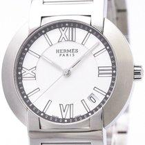 Hermès Nomade Stainless Steel Auto Quartz Mens Watch No1.710...