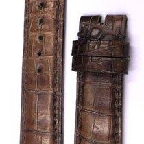 Gérald Genta 18/16 mm Brown Alligator Strap