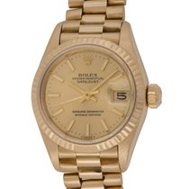 Rolex : Ladies Datejust President 26mm :  69178 :  18k Gold : ...