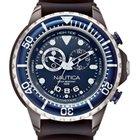 Nautica NMX 650 A32600G Tide Chrono blau schwarz