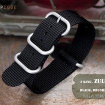 MiLTAT 22mm 3D Black Woven ZULU Band B