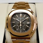 Patek Philippe 5980/1R 18K Pink Rose Gold Nautilus Chronograph...