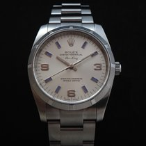 Rolex Oyster Air King Blue Markers #114210
