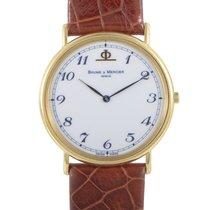 Baume & Mercier Ladies Yellow Gold Watch MOAO1013