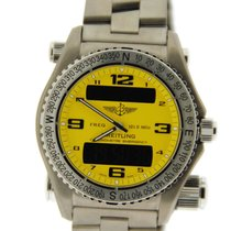 Breitling Emergency Yellow Dial Titanium