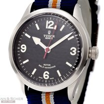 Tudor Heritage Ranger Ref-79910 Stainless Steel Box Papers...