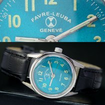 Favre-Leuba Geneve Sea King Winding Steel Unisex Watch Sea Green