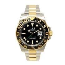 勞力士 (Rolex) Gmt-master II Gold And Steel Black Automatic 116713LN