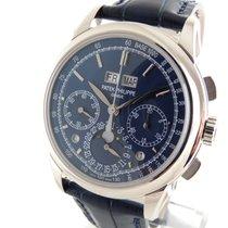 Patek Philippe Perpetual  Calendar Chronograph  Blue Chin Dial