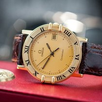 Omega Constellation Vintage 80' 18k Gold Quartz