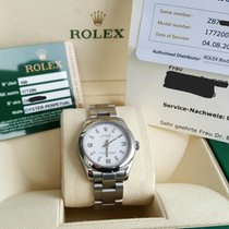 Rolex perfect Full Set Rehaut Gravur Mid Size Medium 31mm Oyster