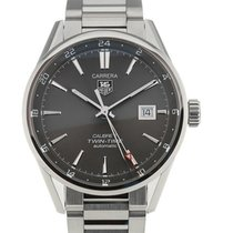 TAG Heuer Carrera 41 Automatic Black Dial Steel