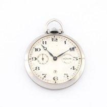 예거 르쿨트르 (Jaeger-LeCoultre) pocket watch with 8 day clockwork...