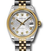 Rolex Unworn 178243 DateJust Two-Tone - Domed Bezel - Jubilee...