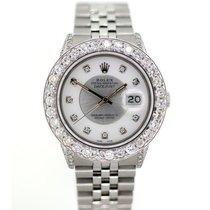 Rolex Datejust Men's 36mm White Dial Stainless Steel Bracelet