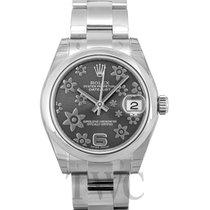 Rolex Datejust Midsize Grey/Steel Ø31mm - 178240