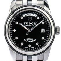 튜더 (Tudor) Glamour Day Date Stahl Keramik Automatik Diamond 39mm