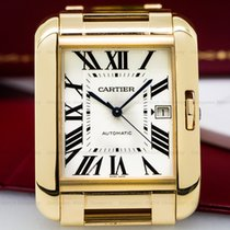 Cartier W5310002 W5310002 Tank Anglaise Large Automatic 18k...