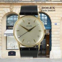 Rolex Precision Gelbgold