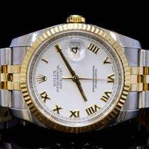 Rolex 2010 36mm Datejust, Steel & Gold, MINT, Box &...