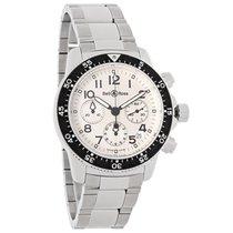 Bell & Ross Pilot Mens Swiss Chronograph Automatic Watch...