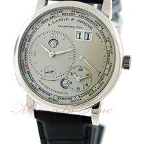 A. Lange & Söhne Lange 1 Timezone, Silver Dial - Platinum...