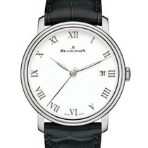 Blancpain Villeret 8 Days Automatic 18K Solid White Gold