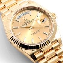 Rolex 2016 18K Yellow Gold 40 mm Day-Date - 228238 Model Unworn