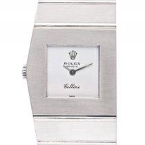 Rolex Cellini Queen Midas Krone links Weißgold 115g Handaufzug...