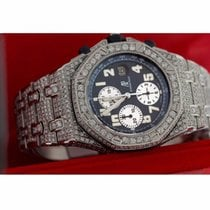 Audemars Piguet Ap  Royal Oak Offshore 30.00 Ct Round Excellen...