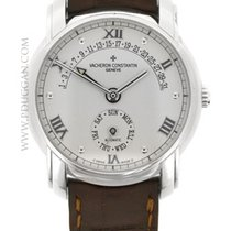 Vacheron Constantin 18k White Gold Patrimony 31 Day Retrograde
