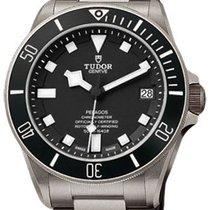 Tudor Pelagos 25600TN-95820T Black Index Titanium &...