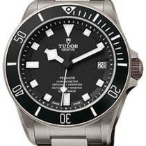 Tudor Pelagos 25600TN-95820T Black Index Titanium &...