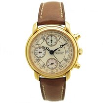 Maurice Lacroix 03274 37mm automatique chronographe plaque or...