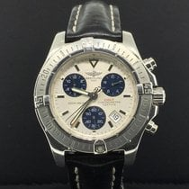 Breitling Colt Chronograph 39mm Stainless Steel White Dial...