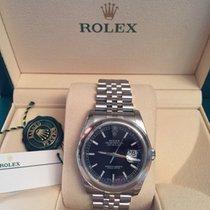 Rolex Datejust 36 Black Dial