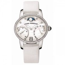Girard Perregaux Cats Eye Mother of Pearl Diamond 18K White...