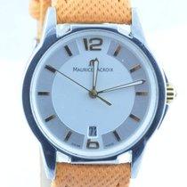 Maurice Lacroix Les Classiques Herren Uhr Stahl Quartz 36mm Weiss