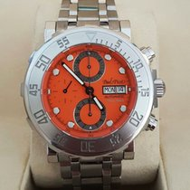 Paul Picot Yachtman Chronograph Day-Date Steel 43 mm (2008)