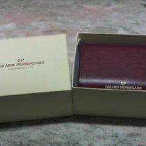 "Girard Perregaux vintage watch box leather ""30 anni di..."