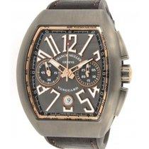 Franck Muller Vanguard Chronograf V 45 Cc Dt In Titanium And...