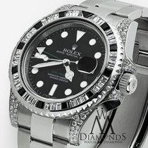 ロレックス (Rolex) Gmt Master Ii 116710ln Black Dial & Baguette...