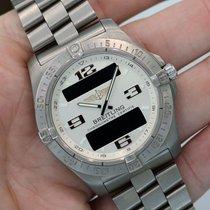 Breitling Professional Aerospace Avantage Titanium White Dial...