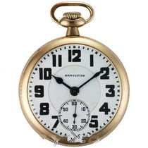 Hamilton pocket watch 992