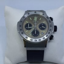 Hublot Super B Stainless Steel and Rubber Chronograph